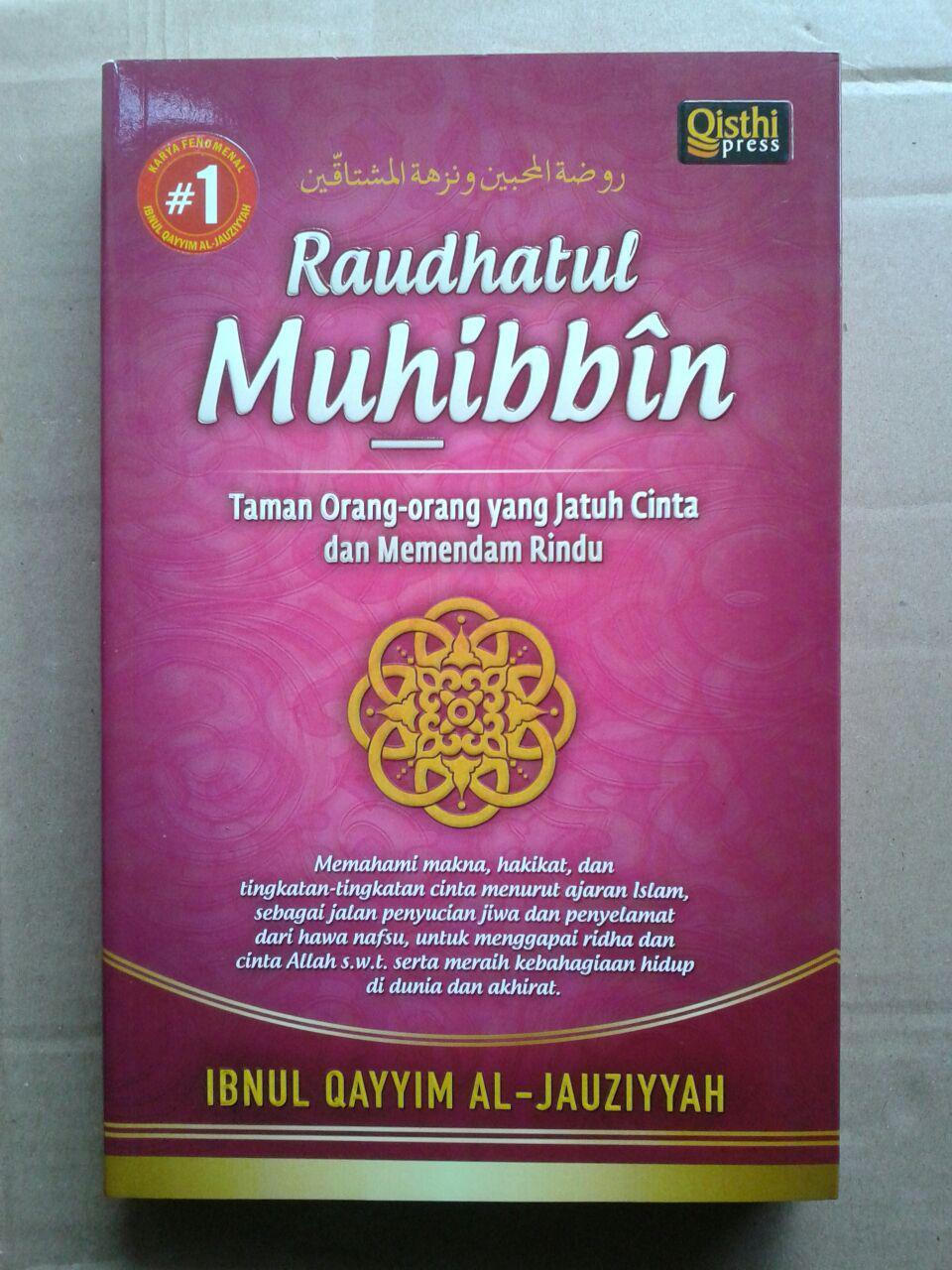 Buku Raudhatul Muhibbin Taman Orang-Orang Jatuh Cinta cover