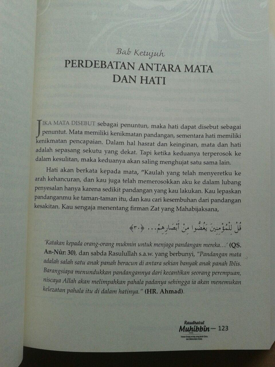 Buku Raudhatul Muhibbin Taman Orang-Orang Jatuh Cinta isi 2