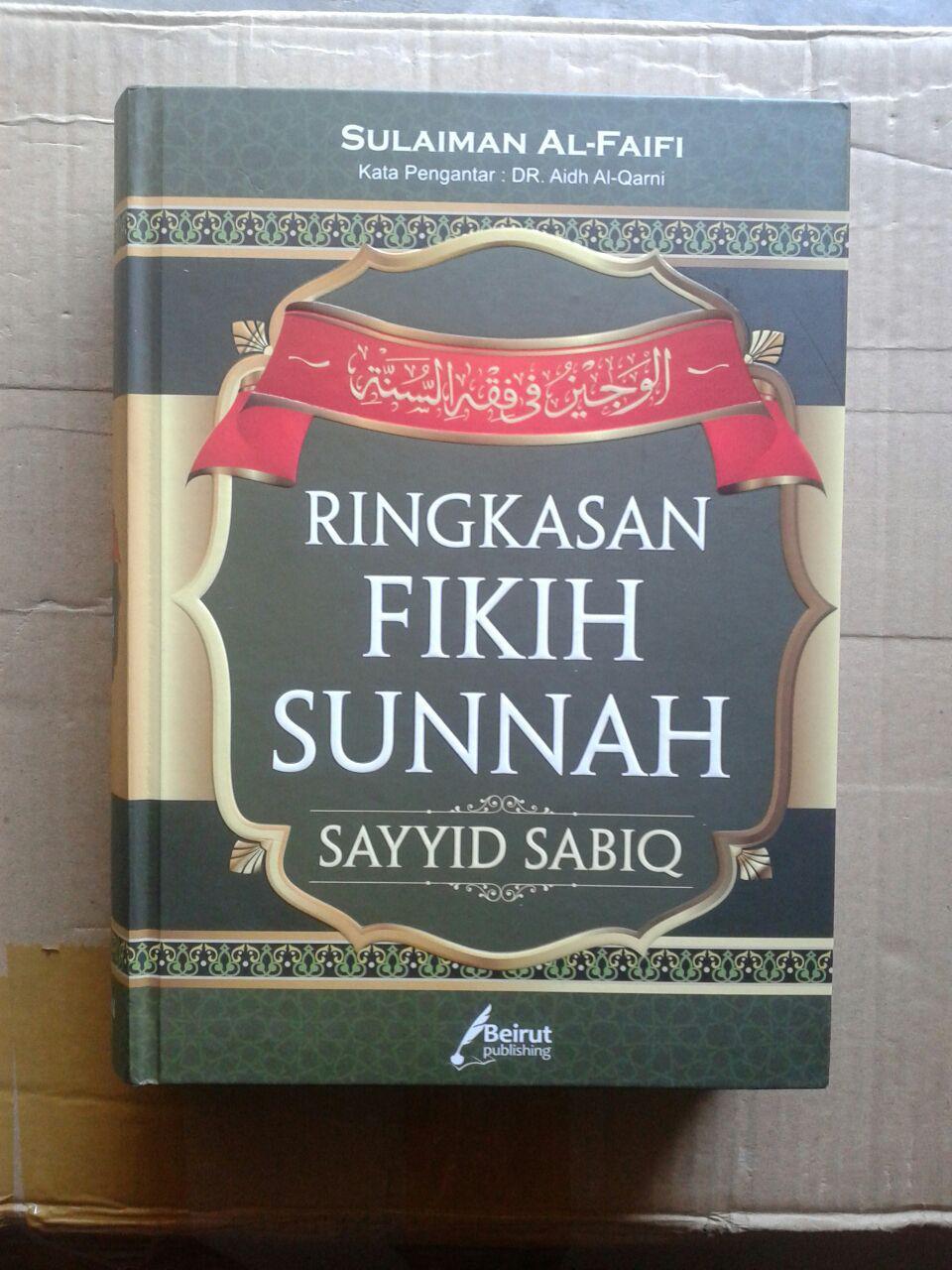 Buku Ringkasan Fikih Sunnah Sayyid Sabiq cover