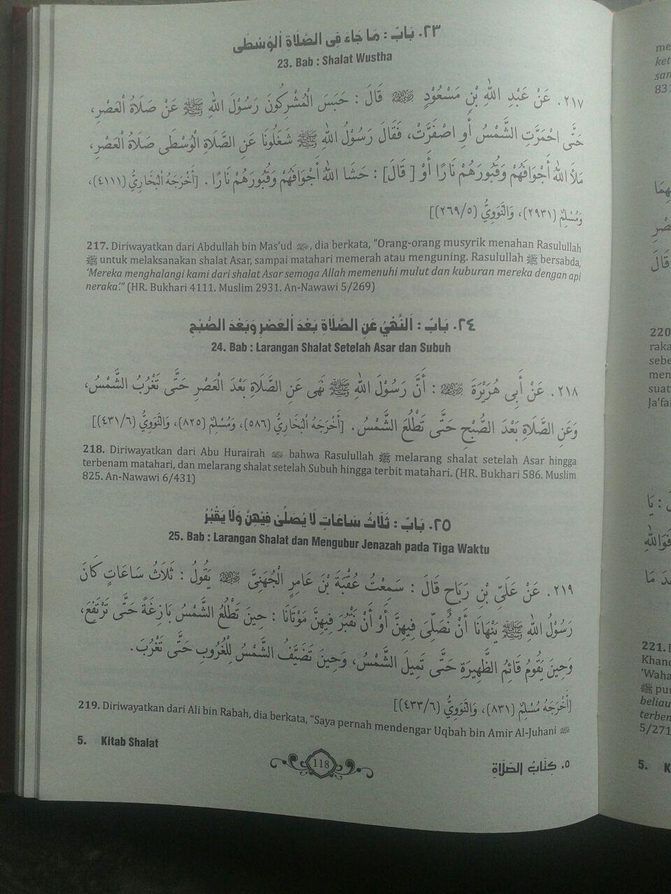 Buku Ringkasan Shahih Muslim isi 3