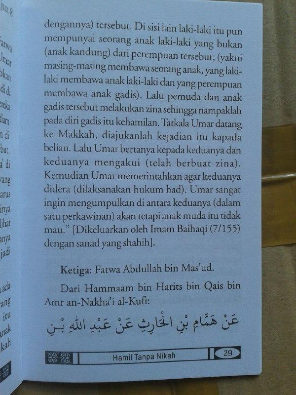 Buku Saku Hamil Tanpa Nikah Mencari Solusi Islami isi 4