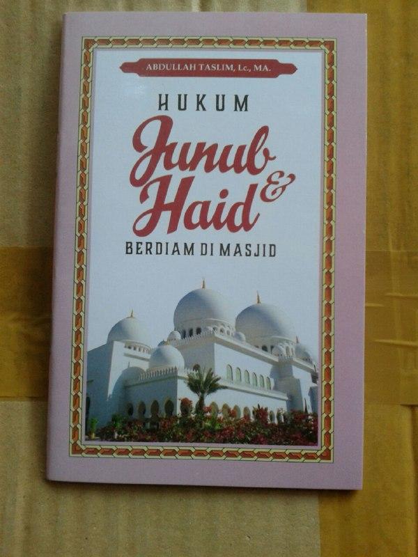 Buku Saku HukAum Junub Dan Haid Berdiam Di Masjid cover