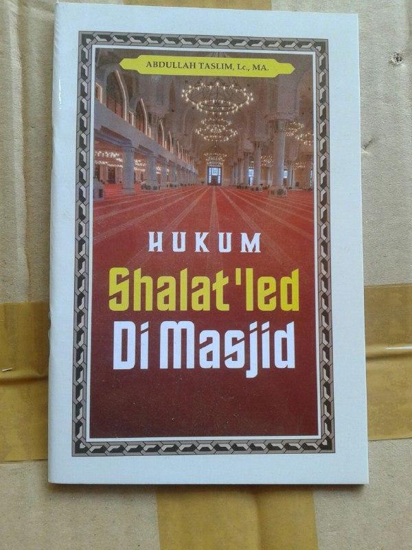 Buku Saku Hukum Shalat Ied Di Masjid cover
