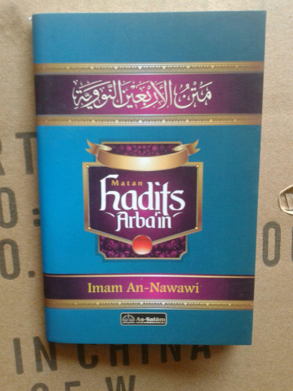 Buku Saku Matan Hadits Arbain Imam An-Nawawi cover