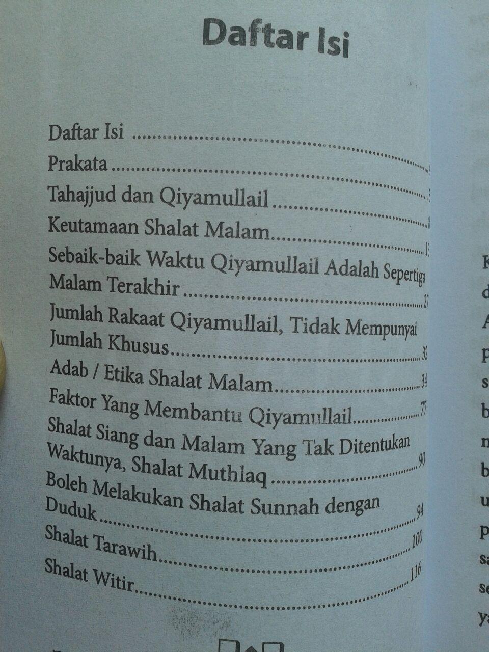 Buku Saku Panduan Praktis Shalat Tahajjud isi 2