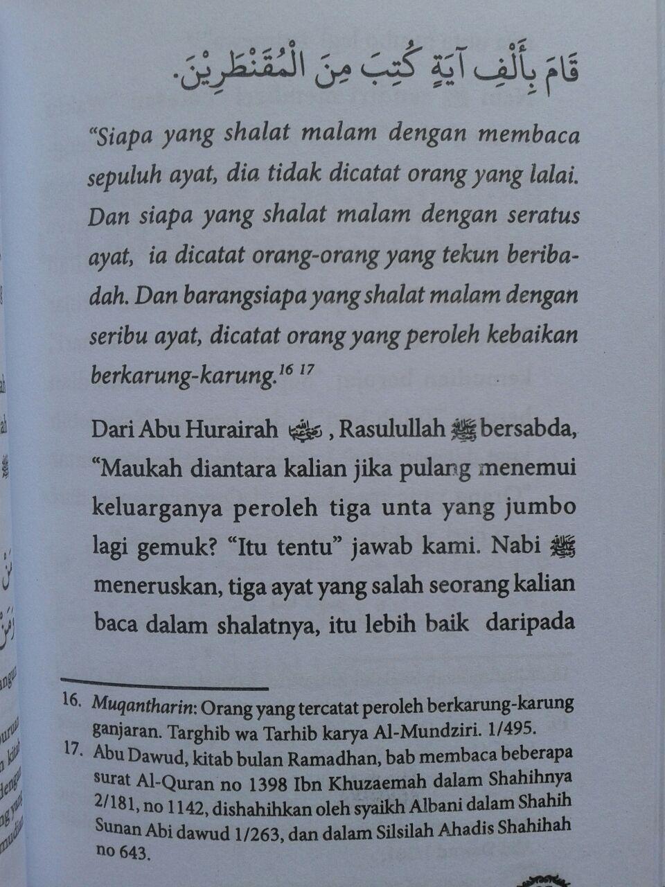 Buku Saku Panduan Praktis Shalat Tahajjud isi 4