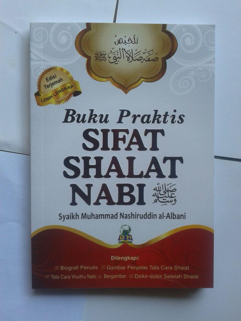 Buku Saku Praktis Sifat Shalat Nabi cover