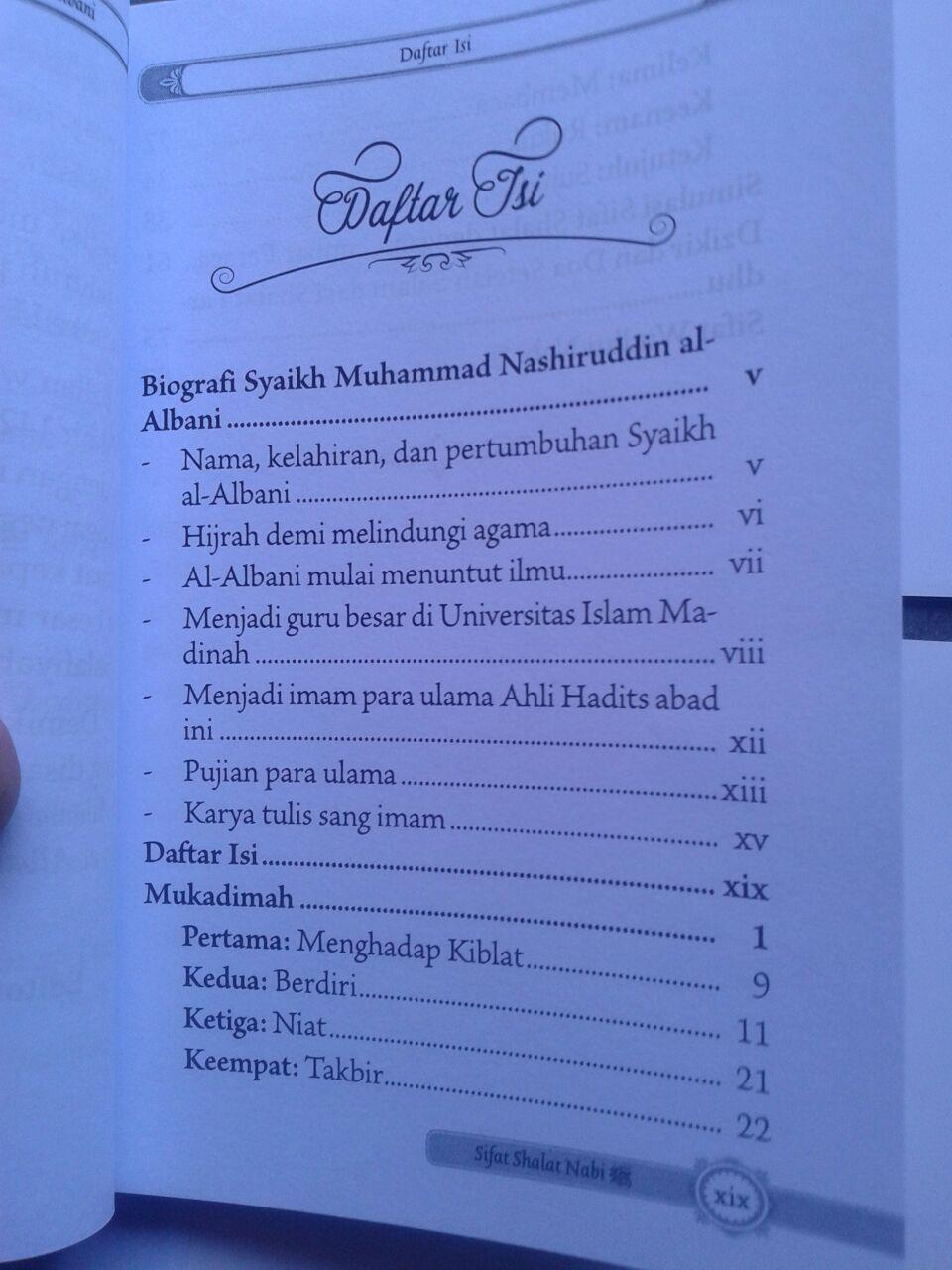 Buku Saku Praktis Sifat Shalat Nabi isi 2