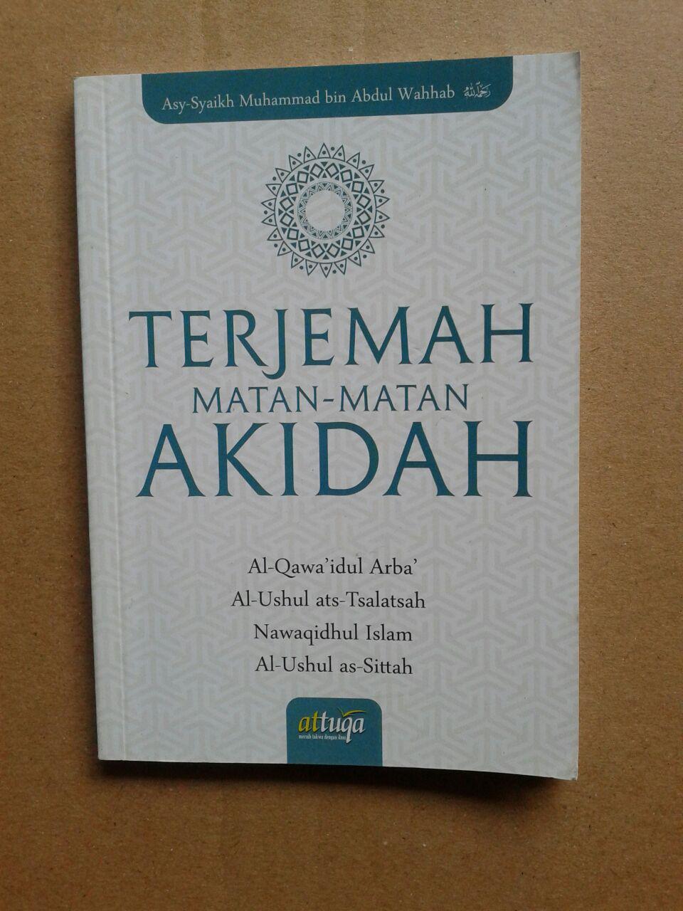 Buku Saku Terjemah Matan-Matan Akidah cover