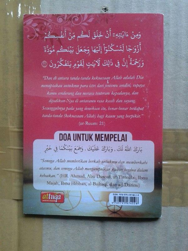 Buku Saku Tuntunan Pernikahan Islami Sesuai Ajaran Nabi cover 2