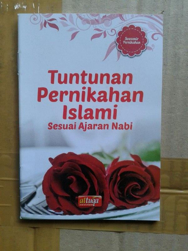 Buku Saku Tuntunan Pernikahan Islami Sesuai Ajaran Nabi cover