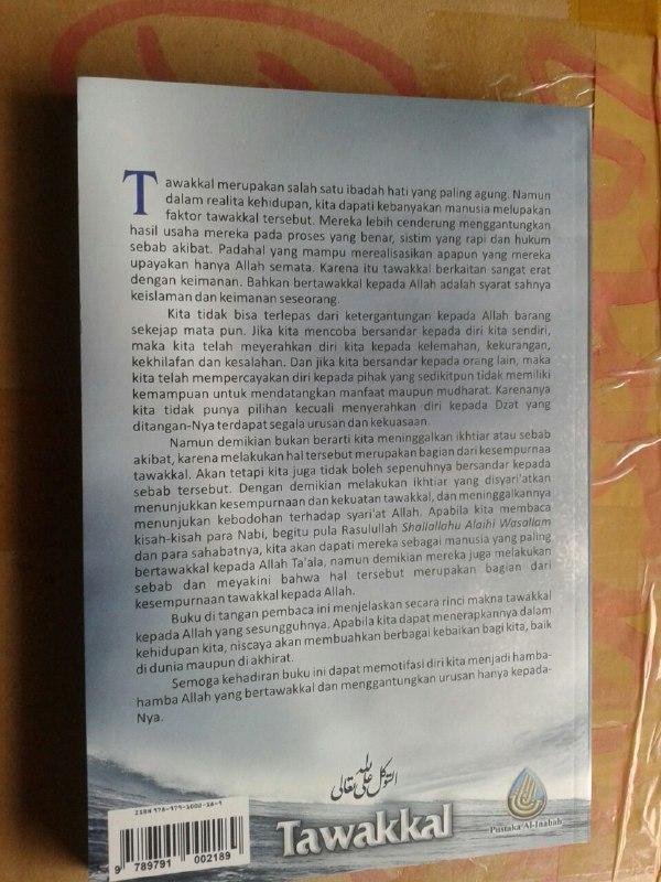 Buku Tawakkal Bergantung Sepenuhnya Kepada Allah cover 2