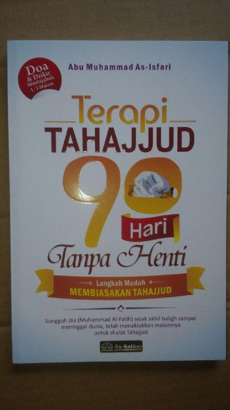 Buku Terapi Tahajjud 90 Hari Tanpa Henti cover