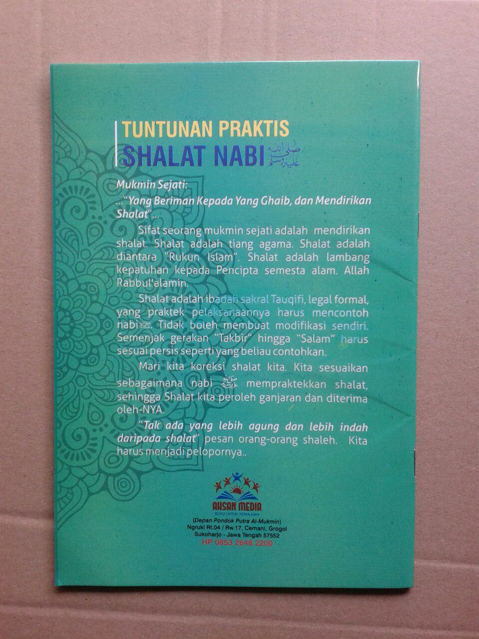 Buku Tuntunan Praktis Shalat Nabi cover 2
