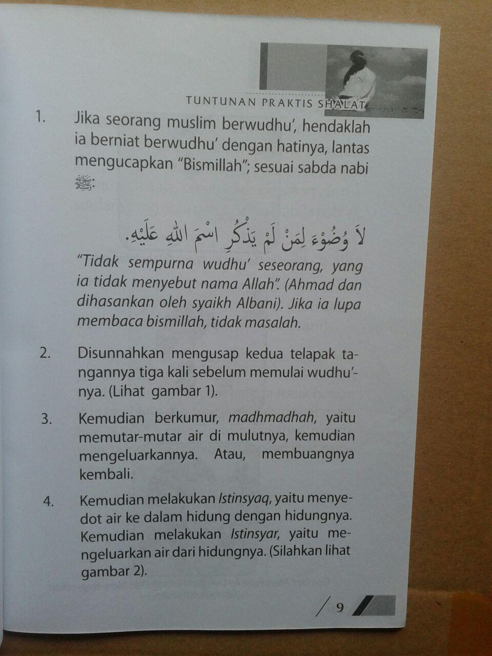 Buku Tuntunan Praktis Shalat Nabi isi 2