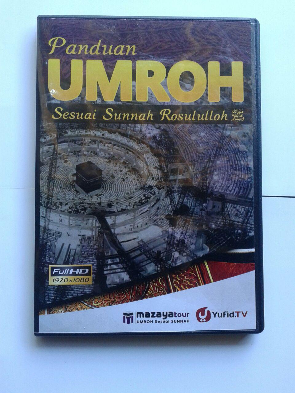DVD Panduan Umroh Sesuai Sunnah Rosululloh cover