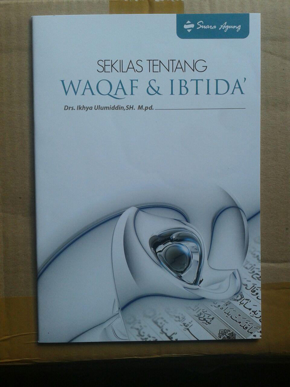 Al-Quran Dilengkapi Waqaf Dan Ibtida Ukuran A4 cover b2