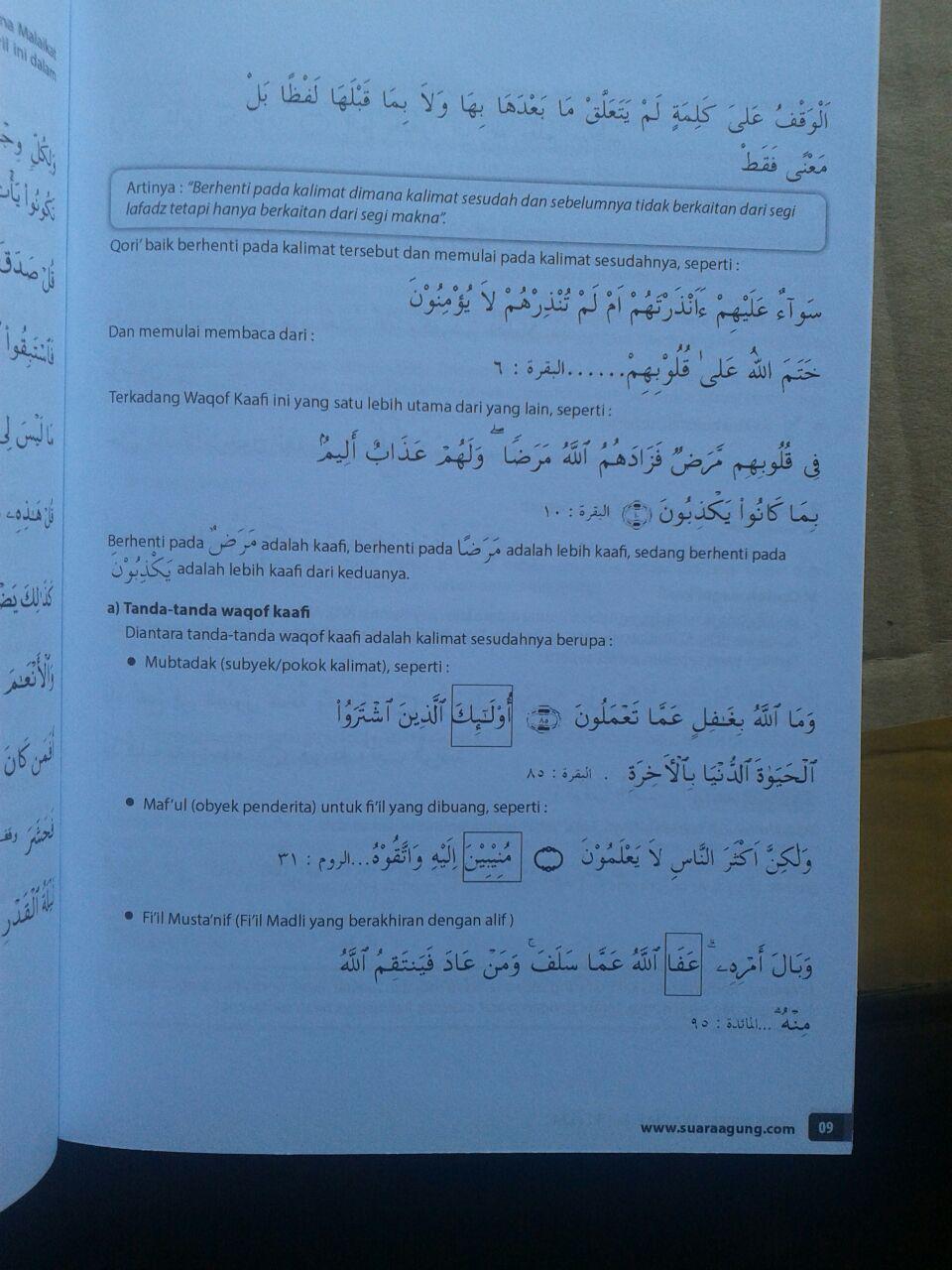 Al-Quran Dilengkapi Waqaf Dan Ibtida Ukuran A4 isi b3