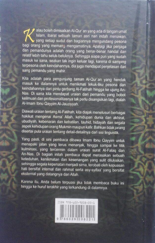 BK2788 Buku Tafsir Ibnu Qayyim Tafsir Ayat-Ayat Pilihan 120.000 20% 96.000 Darul Falah cover 2