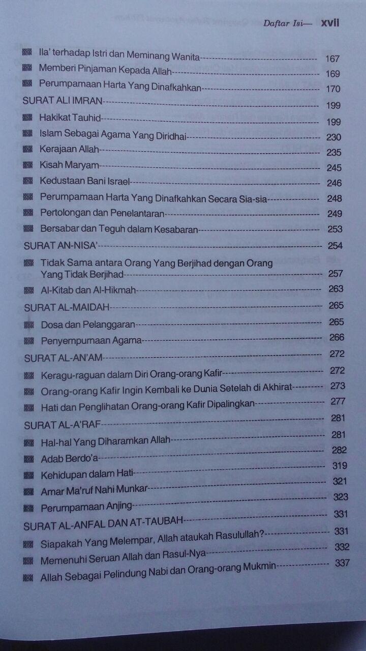 BK2788 Buku Tafsir Ibnu Qayyim Tafsir Ayat-Ayat Pilihan 120.000 20% 96.000 Darul Falah isi 3