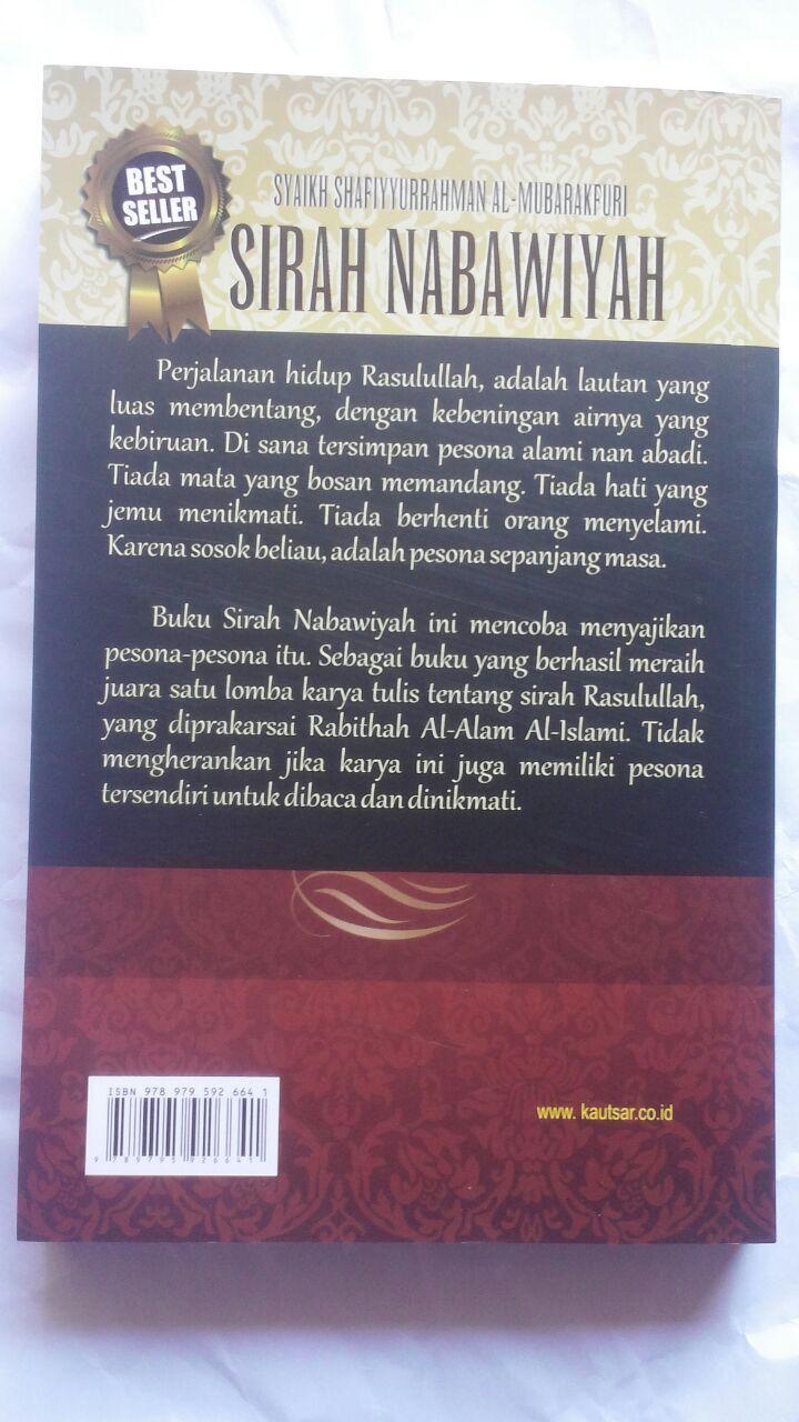 BK2791 Buku Sirah Nabawiyah Ar-Rahiq Al-Makhtum SC 75.000 20% 60.000 Pustaka Al-Kautsar cover 2