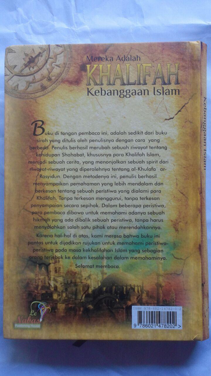 BK2792 Buku Mereka Adalah Khalifah Kebanggaan Islam 125.000 20% 100.000 Le Nabas Publishing cover 2