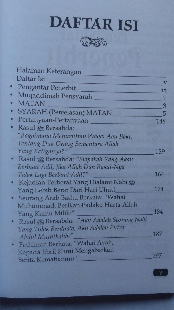 BK2794 Buku 6 Pelajaran Paling Berharga Dari Sirah Nabawiyah 35.000 15% 29.750 Cahaya Ilmu Press isi 4