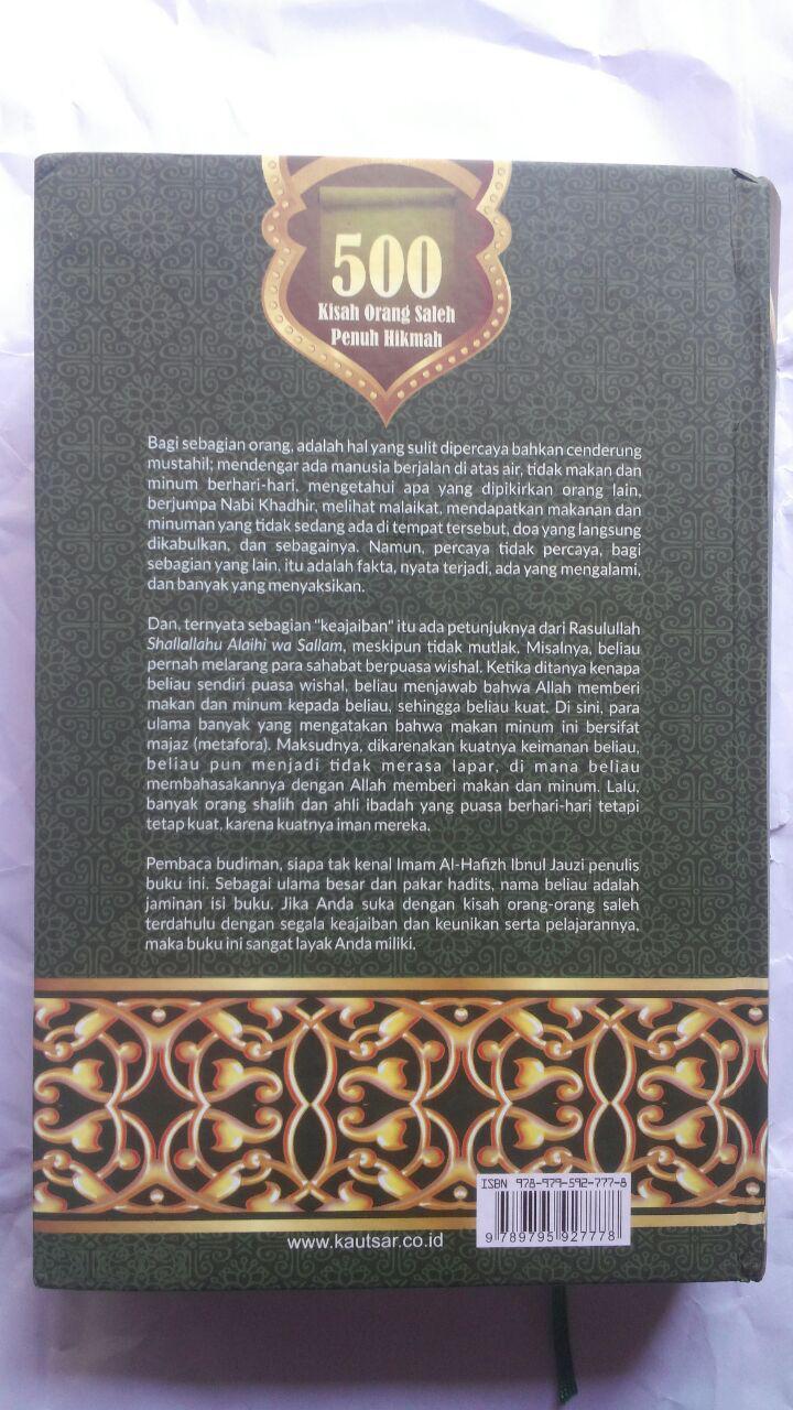 BK2797 Buku 500 Kisah Orang Saleh Penuh Hikmah 210.000 20% 168.000 Pustaka Al-Kautsar cover