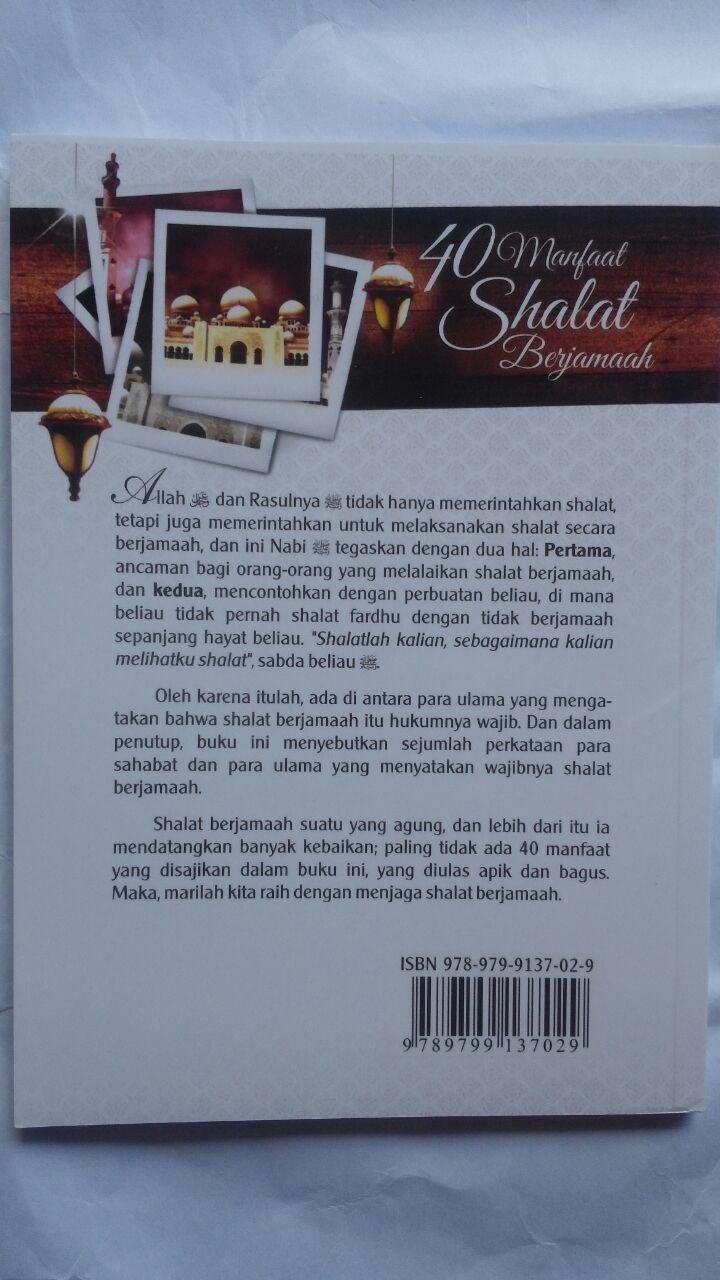 Buku 40 Manfaat Shalat Berjamaah 15.000 15% 12.750 Darul Haq cover 2