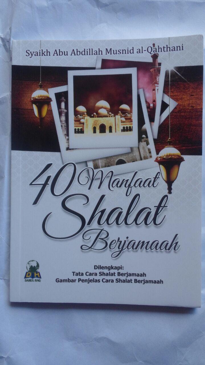 Buku 40 Manfaat Shalat Berjamaah 15.000 15% 12.750 Darul Haq cover