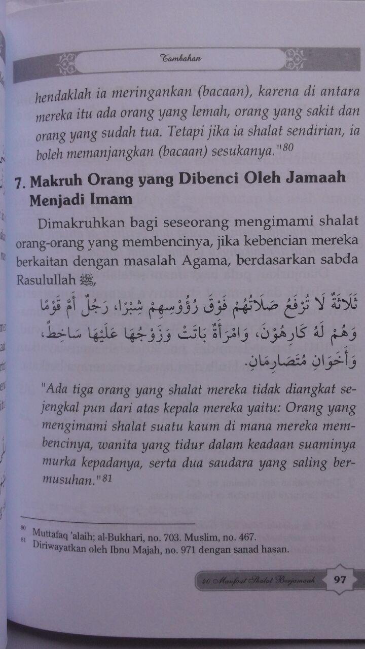 Buku 40 Manfaat Shalat Berjamaah 15.000 15% 12.750 Darul Haq isi