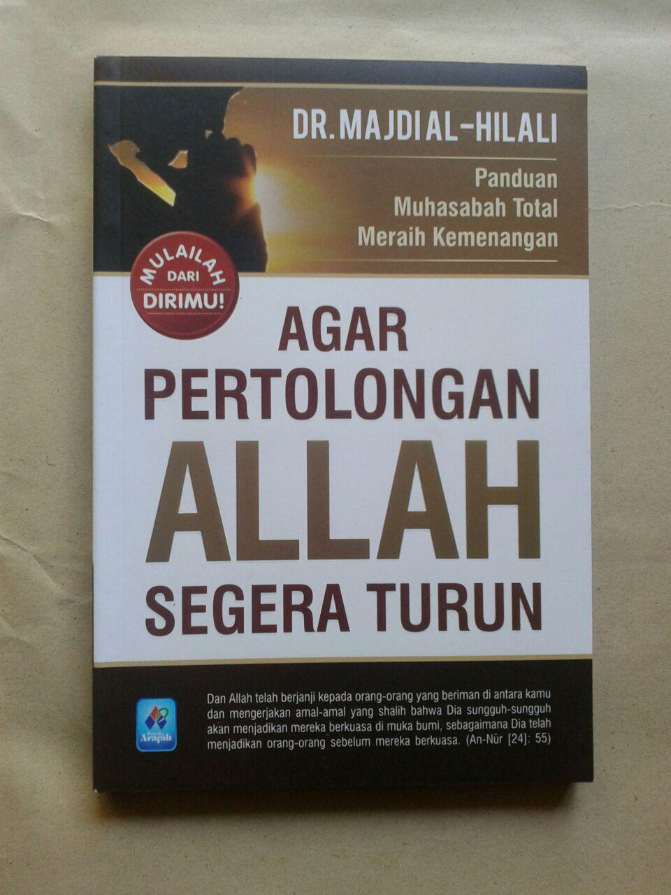 Buku Agar Pertolongan Allah Segera Turun 35.000 15% 29.750 Pustaka Arafah cover