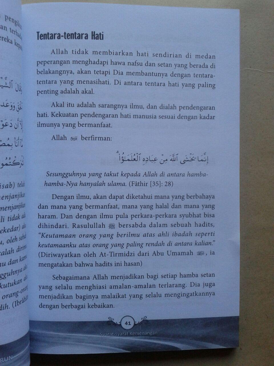 Buku Agar Pertolongan Allah Segera Turun 35.000 15% 29.750 Pustaka Arafah isi