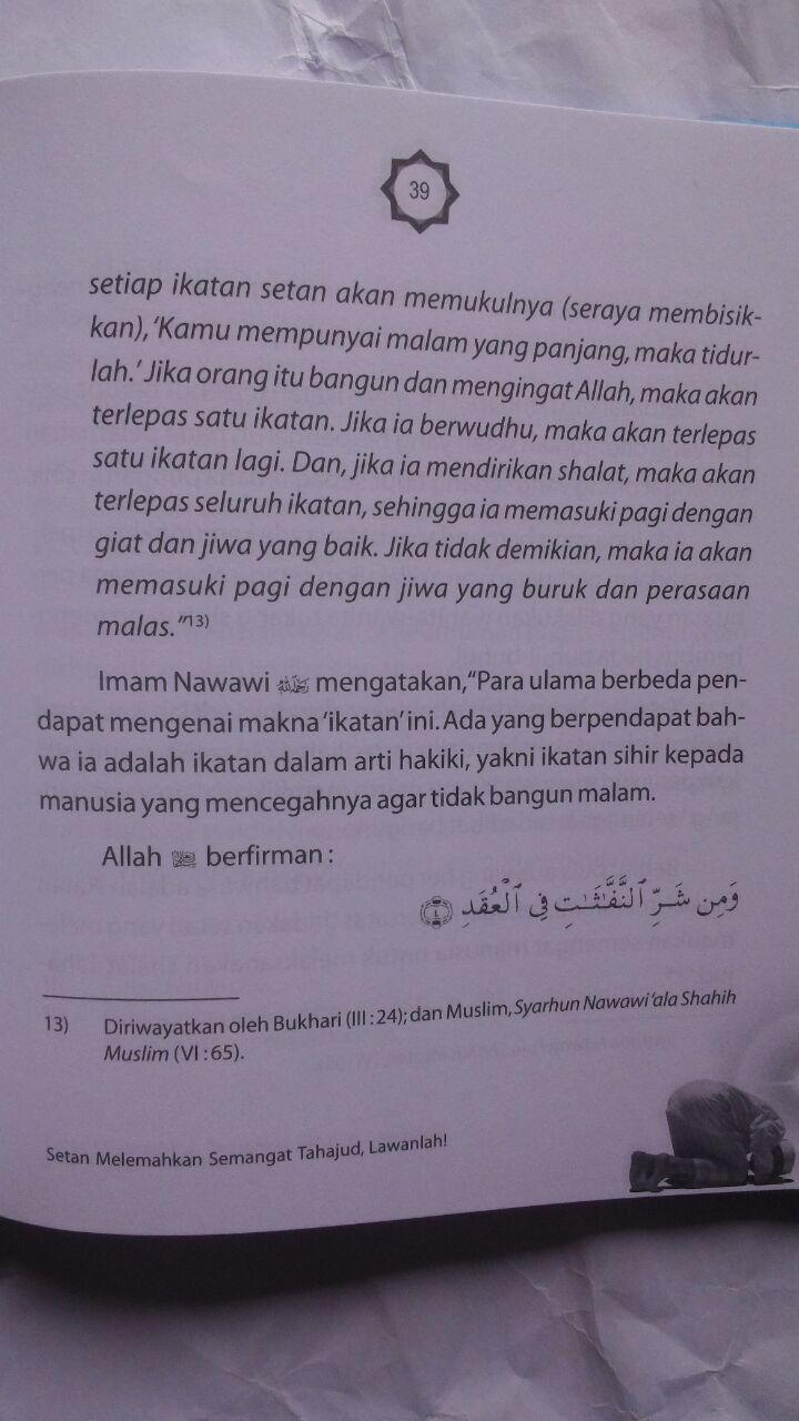 Buku Agar Semangat Tahajud Bagaimana Solusinya 25.000 15% 21.250 Nabawi Publishing Syaikh Wahid Abdus Salam Bali isi 3