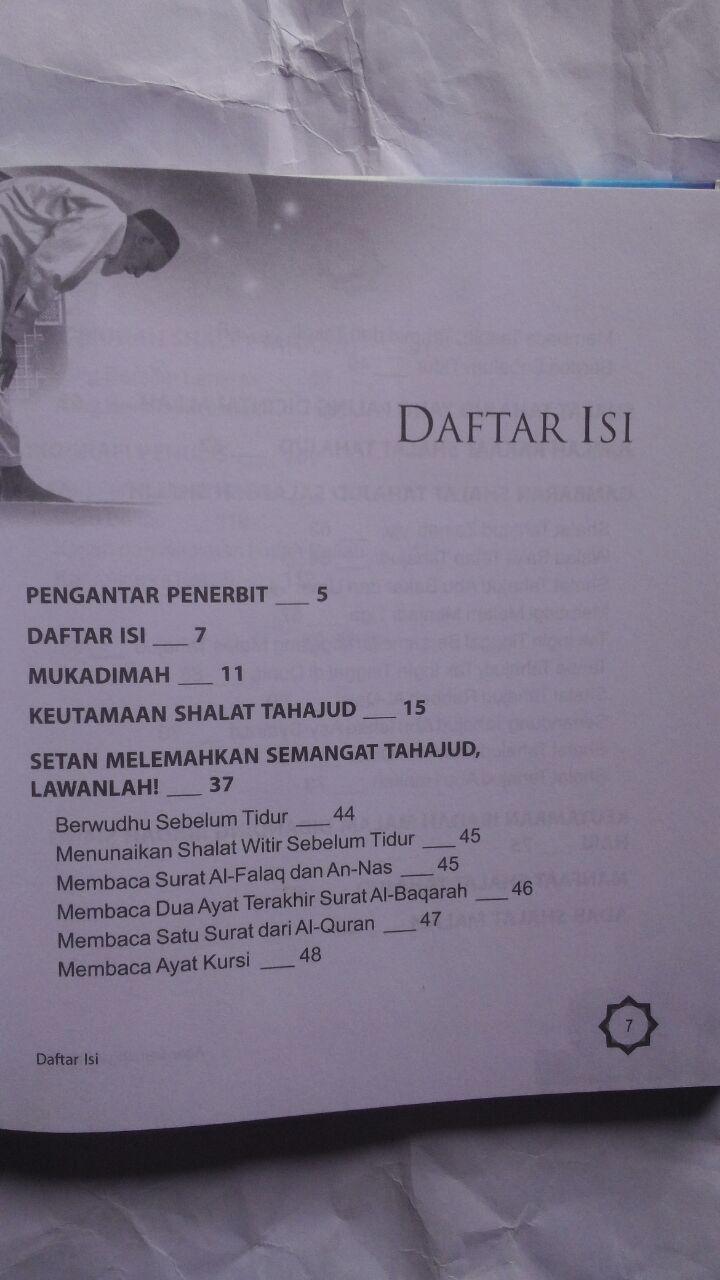 Buku Agar Semangat Tahajud Bagaimana Solusinya 25.000 15% 21.250 Nabawi Publishing Syaikh Wahid Abdus Salam Bali isi