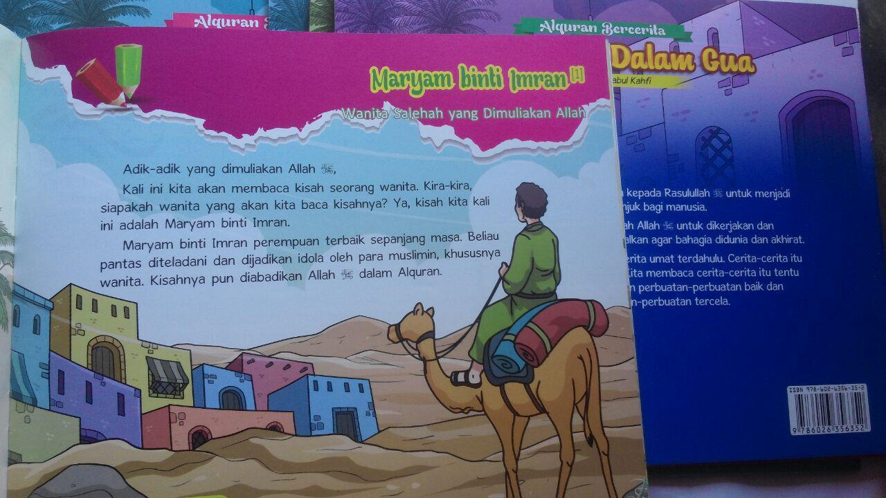 Buku Anak Al-Quran Bercerita Memetik Pelajaran Kisah 190.000 20% 152.000 Perisai Quran isi 3