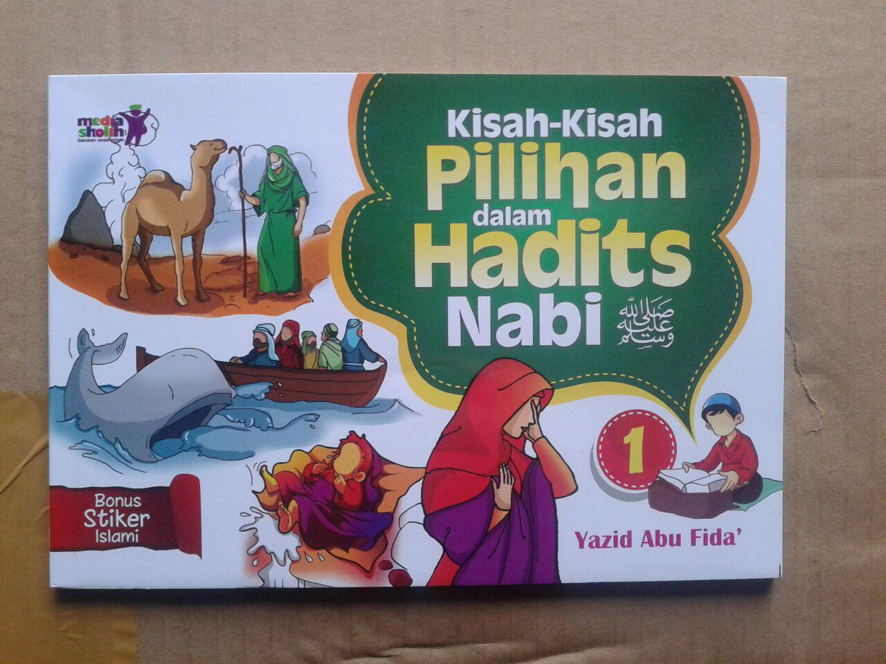 Buku Anak Kisah-Kisah Pilihan Dalam Hadits Nabi Jilid 1 cover