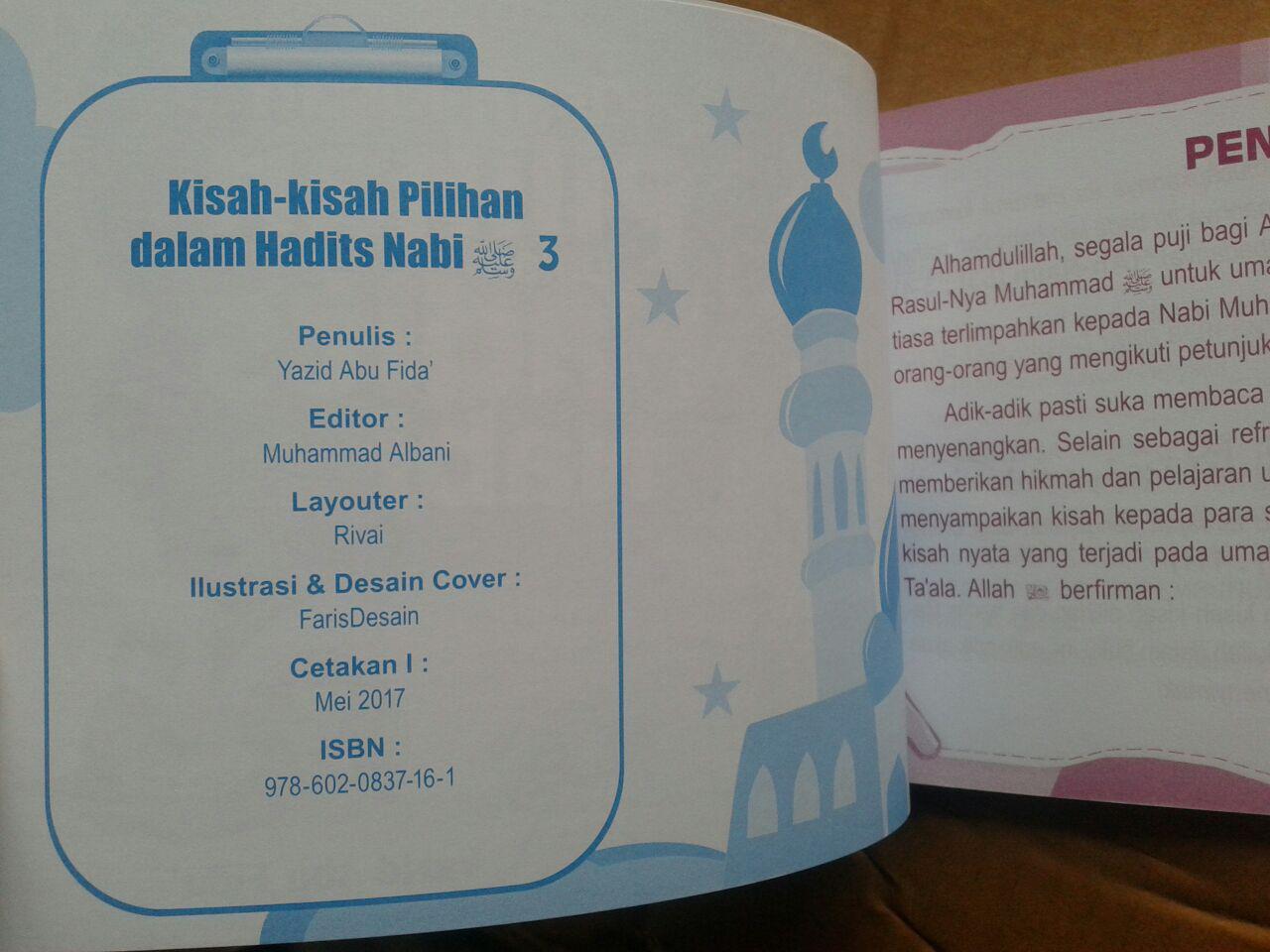 Buku Anak Kisah-Kisah Pilihan Dalam Hadits Nabi Jilid 3 isi 2