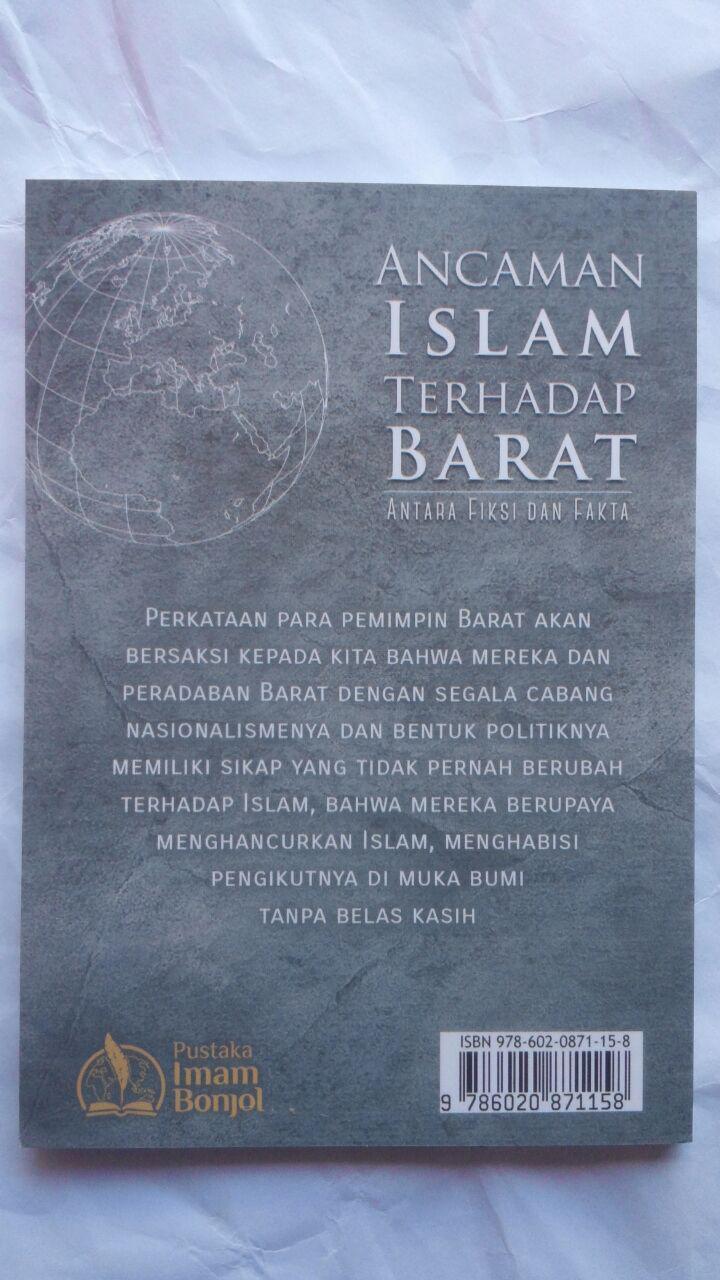 Buku Ancaman Islam Terhadap Barat Antar Fiksi Dan Fakta 8.000 15% 6.800 Pustaka Imam Bonjol cover 2