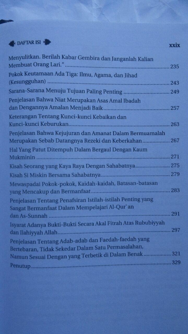 Buku Ar-Riyadh An-Nadhirah Untaian Nasihat Aqidah Akhlak Dan Lainnya 90.000 20% 72.000 Darus Sunnah Syaikh Abdurrahman bin Nashir As-Sa'di isi 4