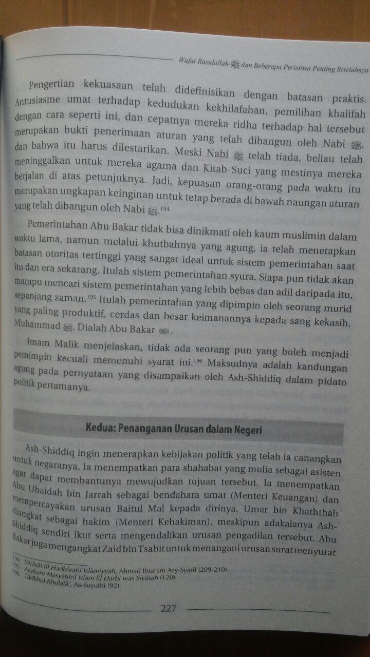 Buku Biografi Abu Bakar Ash-Shiddiq 135.000 20% 108.000 Ummul Qura isi