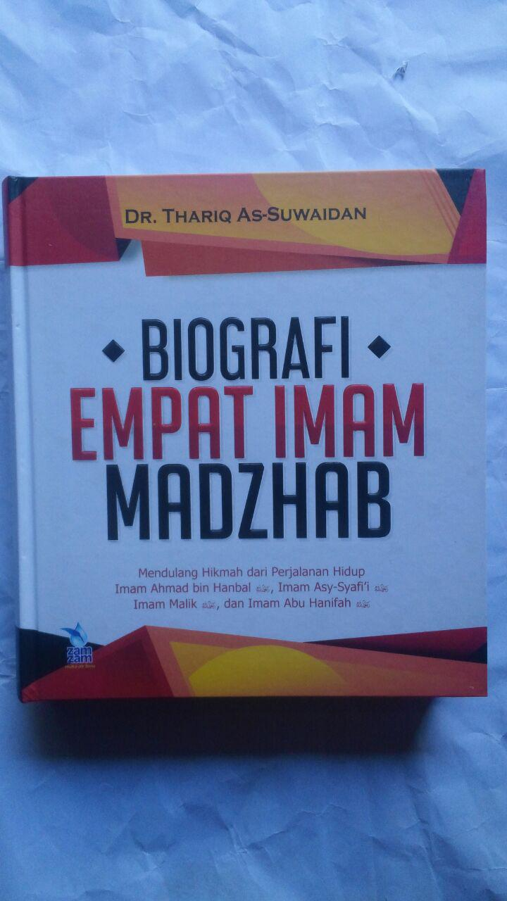 Buku Biografi Empat Imam Mazhab Mendulang Hikmah Perjalanan 160.000 20% 128.000 Zam Zam Dr. Thariq As-Suwaidan cover 2