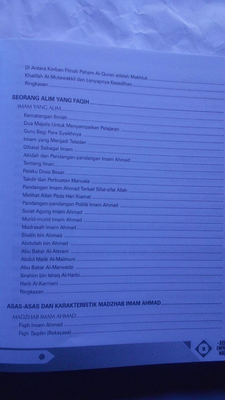Buku Biografi Empat Imam Mazhab Mendulang Hikmah Perjalanan 160.000 20% 128.000 Zam Zam Dr. Thariq As-Suwaidan isi 3