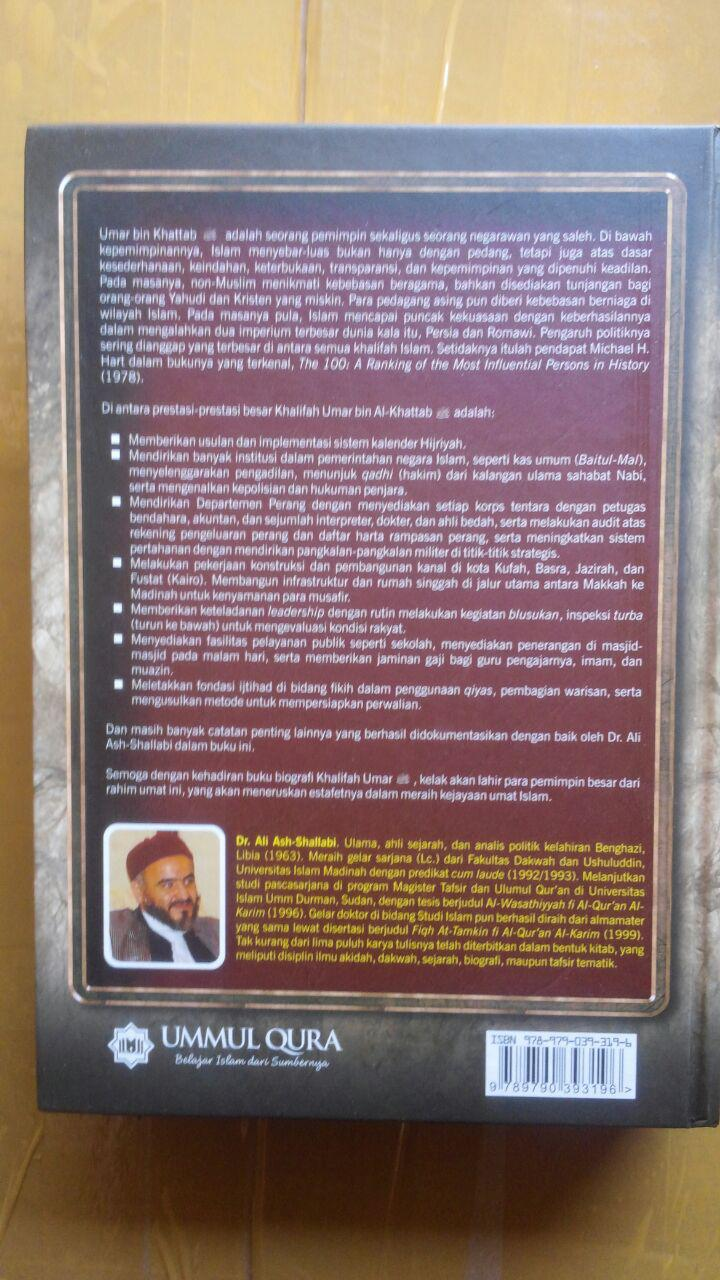 Buku Biografi Umar Bin Khattab 165.000 202.000 Ummul Qura cover 3