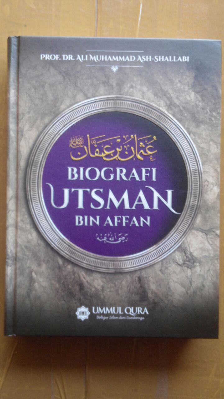 Buku Biografi Utsman Bin Affan 125.000 20% 100.000 Ummul Qura cover
