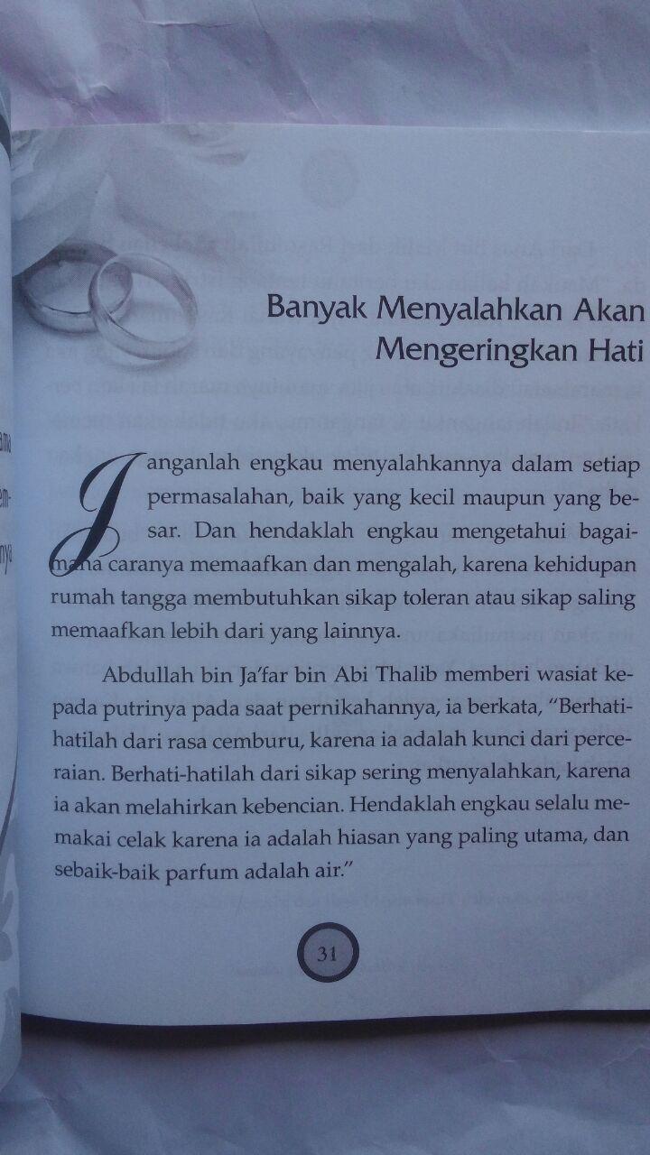 Buku Dicintai Allah Di Sayang Suami 17.000 15% 14.450 Zam Zam Adil Fahi Abdullah isi 2