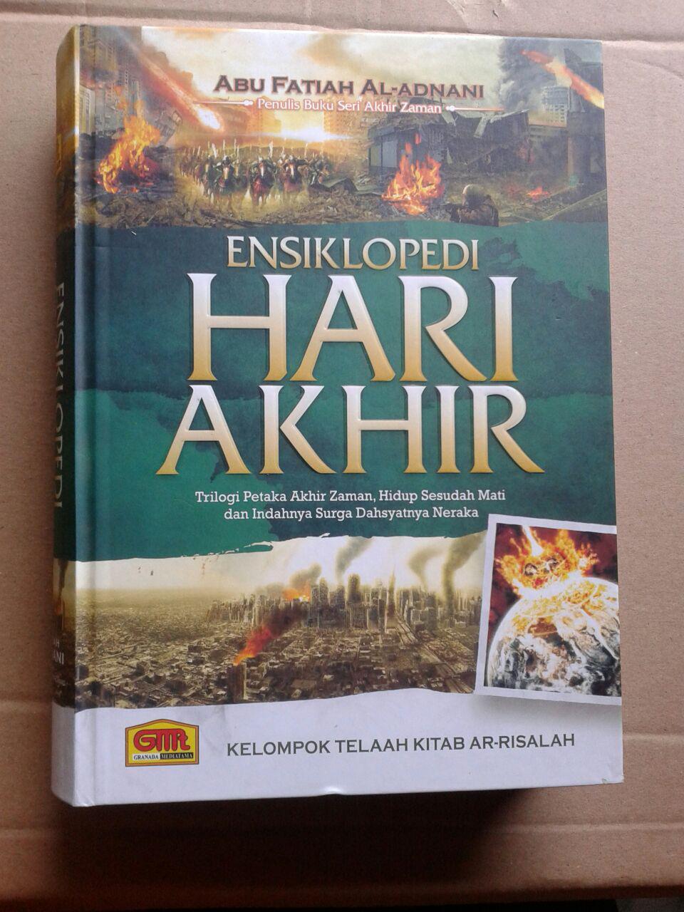Buku Ensiklopedi Hari Akhir Trilogi Petaka Akhir Zaman cover