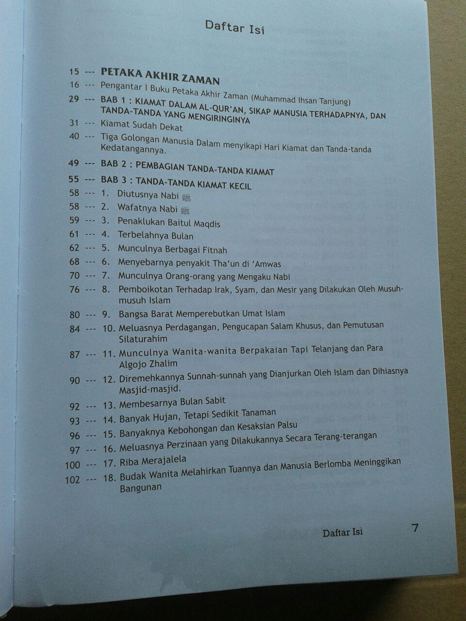 Buku Ensiklopedi Hari Akhir Trilogi Petaka Akhir Zaman isi 4