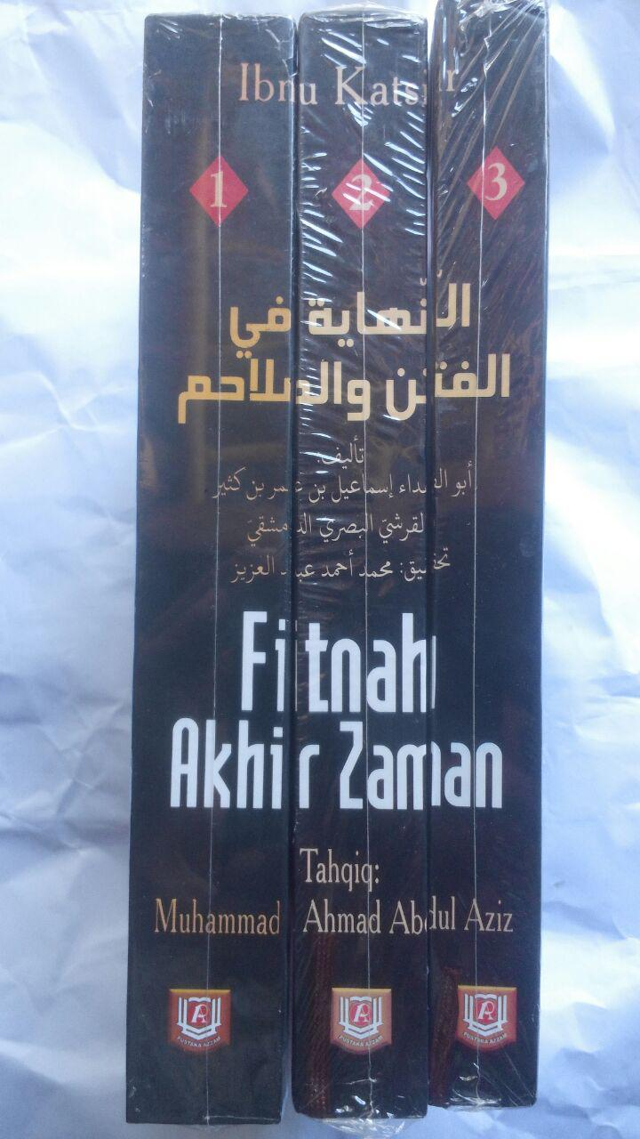 Buku Fitnah Akhir Zaman 1 Set 3 Jilid 441.000 20% 352.800 Pustaka Azzam cover