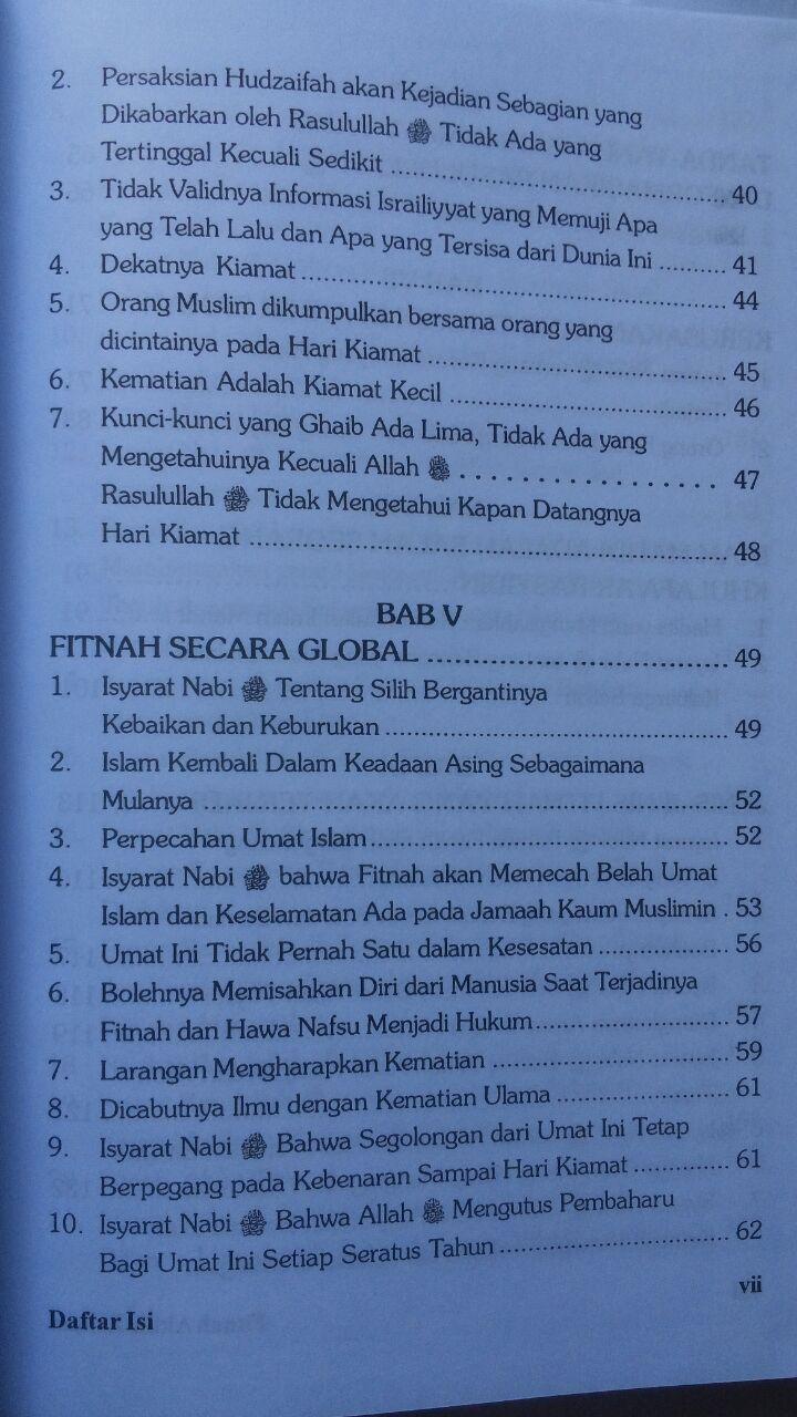 Buku Fitnah Akhir Zaman 1 Set 3 Jilid 441.000 20% 352.800 Pustaka Azzam isi 4